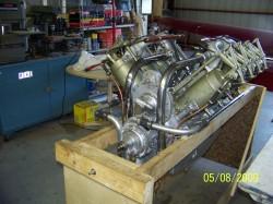1918 OX5 Engine 001