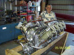1918 OX5 Engine 004