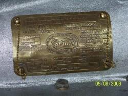 1918 OX5 Engine 016