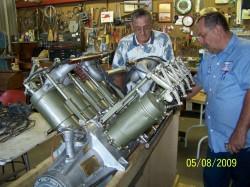 1918 OX5 Engine 052