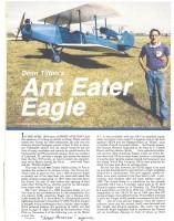 1984 Sport Aviation - 1928 American Eagle 001